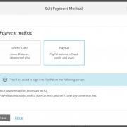 MailChimp kann man jetzt auch via PayPal bezahlen