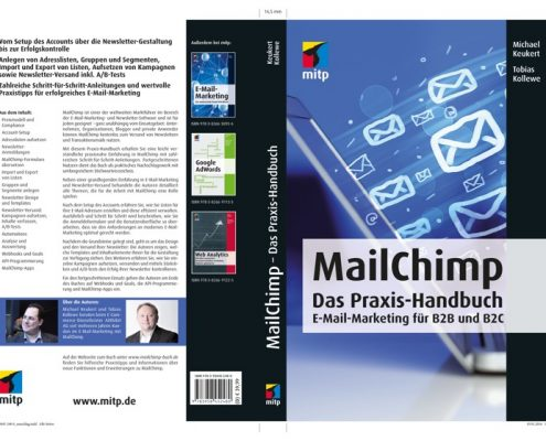 Cover MailChimp-Buch